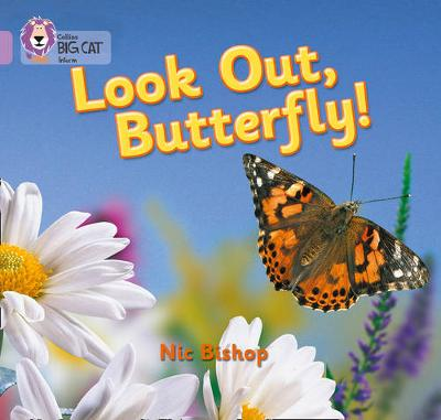 Look Out Butterfly! Band 00/Lilac by Nic Bishop