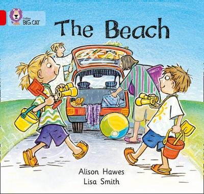 The Beach Band 02A/Red A by Alison Hawes