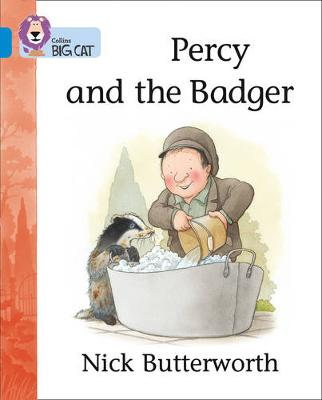 Percy and the Badger Band 04/Blue by Nick Butterworth