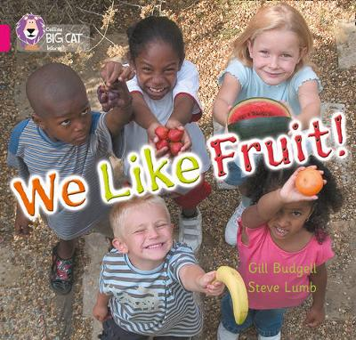 We Like Fruit Band 01b/Pink B by Gill Budgell