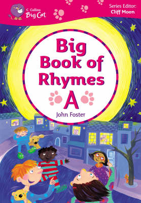 Big Book of Rhymes A Band 00-02/Lilac-Red by Cliff Moon