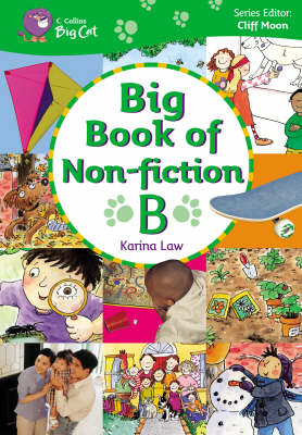 Big Book of Non-fiction B Band 03-05/Yellow-Green by Cliff Moon