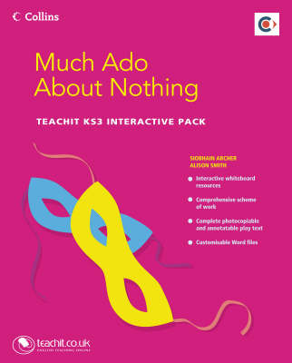 Much Ado About Nothing Teachit KS3 Interactive Pack Network Licence by