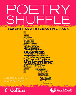Poetry Shuffle Pack KS3 Site Licence Network Licence by