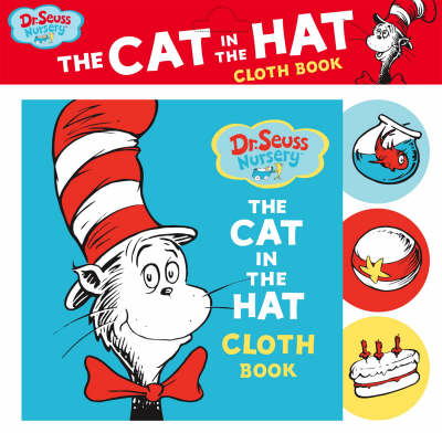 Dr. Seuss Nursery Cat in the Hat Cloth Book by Dr. Seuss