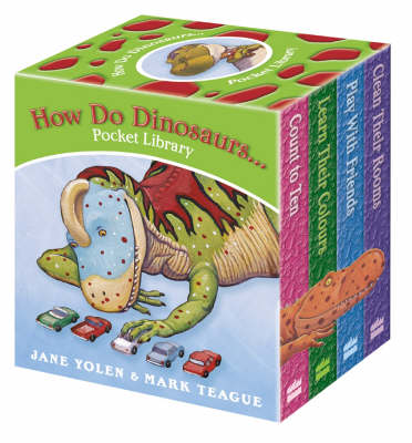 How Do Dinosaurs... Pocket Library Pocket Library by Jane Yolen