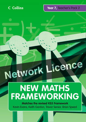 Year 7 Teacher's Guide Book 2 (Levels 4-5) Network Licence by Kevin Evans, Keith Gordon, Brian Speed, Trevor Senior