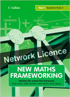 Year 7 Teacher's Guide Book 3 (Levels 5-6) Network Licence by Kevin Evans, Keith Gordon, Brian Speed, Trevor Senior
