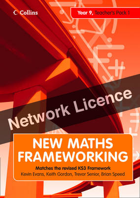 Year 9 Teacher's Guide(Levels 4-5) Network Licence by Kevin Evans, Keith Gordon, Brian Speed, Trevor Senior