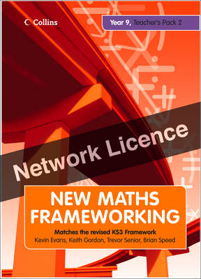 Year 9 Teacher's Guide Book 2 (Levels 5-7) Network Licence by Kevin Evans, Keith Gordon, Brian Speed, Trevor Senior