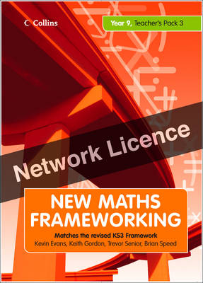 Year 9 Teacher's Guide Book 3 (Levels 6-8) Network Licence by Brian Speed, Keith Gordon, Kevin Evans, Trevor Senior