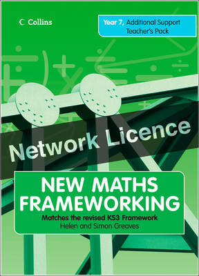 Year 7 Additional Teacher's Support Pack Network Licence by Jacqueline Kaye, Simon Graves