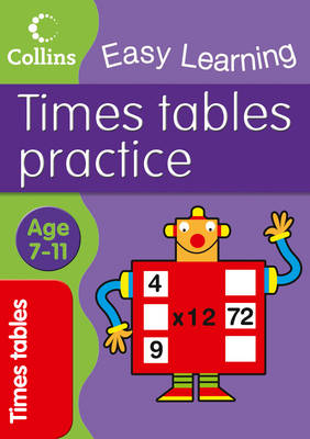 Times Tables Practice by Simon Greaves, Collins Easy Learning
