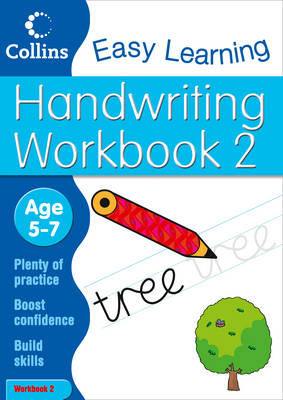 Handwriting Workbook 2 Age 5-7 by Karina Law, Collins Easy Learning