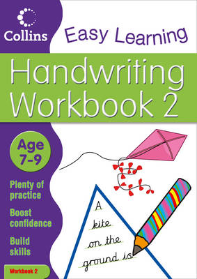 Handwriting Age 7-9 Workbook 2 by Karina Law, Collins Easy Learning