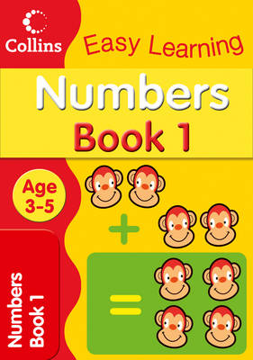 Numbers Age 3-5 Book 1 by