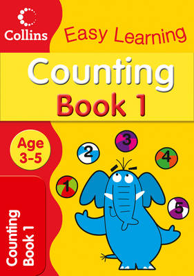 Counting Age 3-5 Book 1 by
