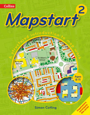 Collins Primary Atlases Collins Mapstart 2 by Simon Catling