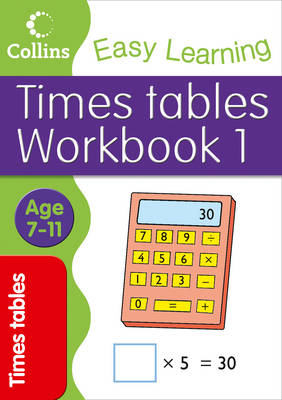 Times Tables Workbook 1 English Age 7-11 by Simon Greaves, Collins Easy Learning
