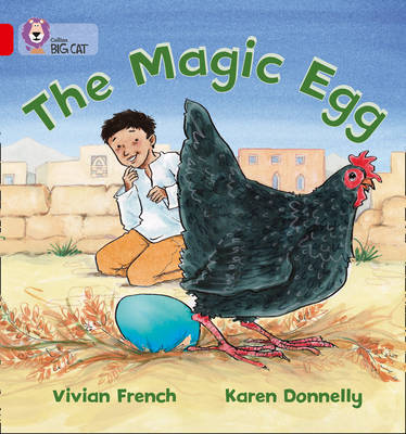 Collins Big Cat The Magic Egg: Band 02A/Red A by Vivian French, Karen Donnelly