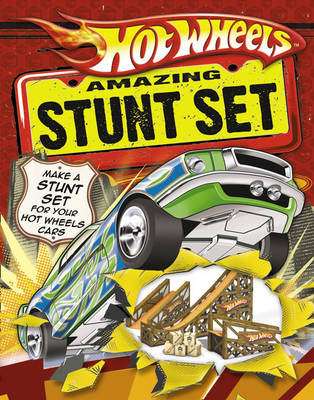 Hot Wheels Amazing Stunt Set Press Out and Play Book by