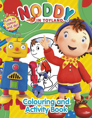 Noddy Colouring and Activity Book by Enid Blyton