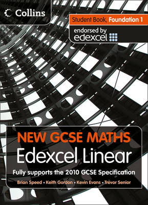 New GCSE Maths Student Book Foundation 1: Edexcel Linear (A) by
