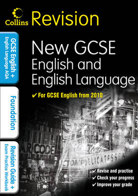Collins GCSE Revision GCSE English & English Language for AQA: Foundation: Revision Guide and Exam Practice Workbook by Keith Brindle, Sarah Darragh