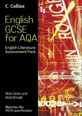 English Literature Assessment Pack by Nicky Carter, Keith Brindle