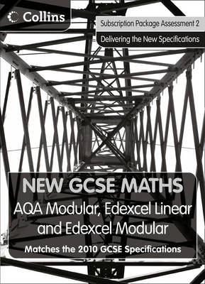 New GCSE Maths - Subscription Package Assessment 2 AQA Modular, Edexcel Linear and Edexcel Modular by