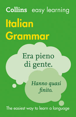 Easy Learning Italian Grammar by Collins Dictionaries