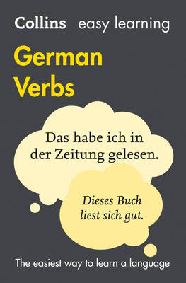 Easy Learning German Verbs With Free Verb Wheel by Collins Dictionaries