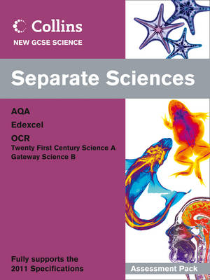 Separate Sciences Assessment Pack by