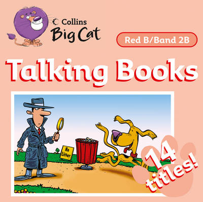 Talking Books Band 02b/Red B by Collins Big Cat