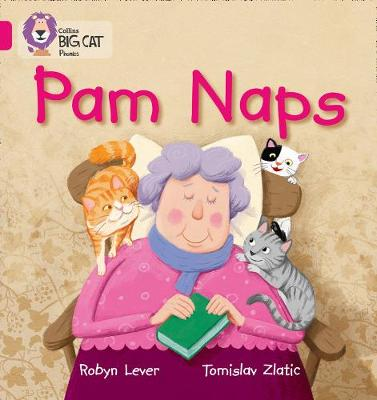 Collins Big Cat Phonics Pam Naps: Band 01A/Pink A by Robyn Lever