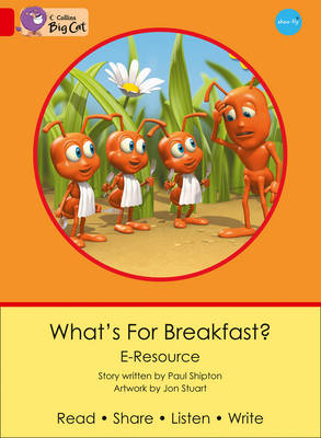 What's for Breakfast? Red B/Band 02b by