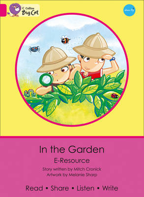 In the Garden Pink A/Band 01a e-Resource by