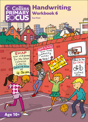 Collins Primary Focus Workbook 6: Handwriting by Sue Peet
