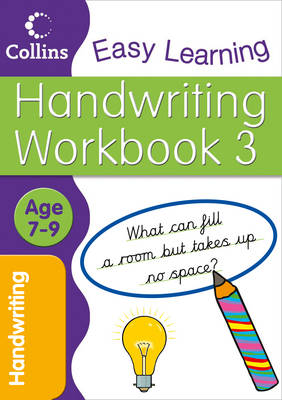 Handwriting Age 7-9 Workbook 3 by Collins Easy Learning