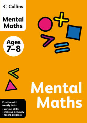Collins Mental Maths Ages 7-8 by
