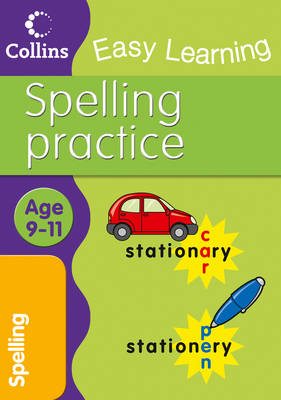 Spelling Ages 9-11 by Collins Easy Learning