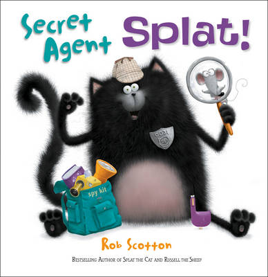Secret Agent Splat by Rob Scotton