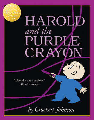 Essential Picture Book Classics - Harold And The Purple Crayon by Crockett Johnson