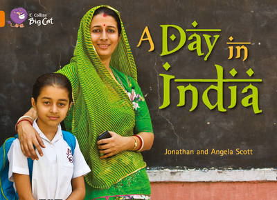 A Day in India Workbook by
