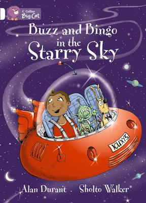 Buzz and Bingo in the Starry Sky Band 10/White by Alan Durant