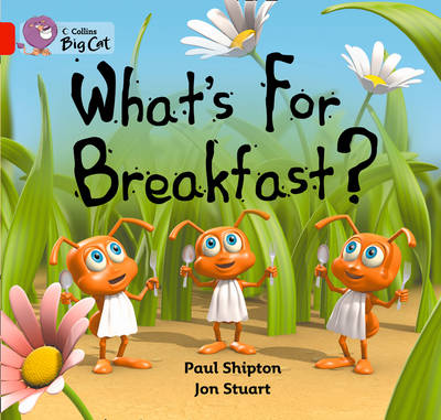 What's for Breakfast Band 02b/Red B by Paul Shipton