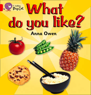 What Do You Like? Band 02b/Red B by Anna Owen, Steve Lumb