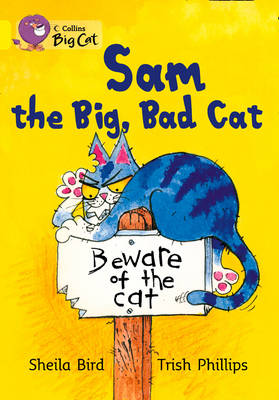 Sam and the Big Bad Cat Band 03/Yellow by Sheila Bird