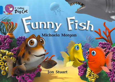 Funny Fish Band 04/Blue by Michaela Morgan