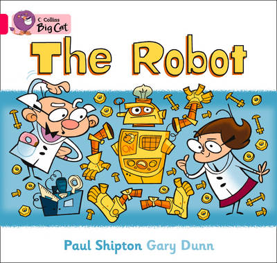 The Robot Band 01b/Pink B by Paul Shipton